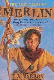 Cover of: The Lost Years of Merlin (DIGEST)