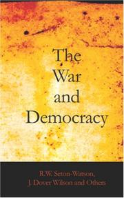 Cover of: The War And Democracy