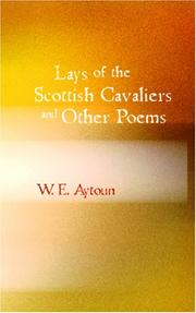 Cover of: Lays of the Scottish Cavaliers and Other Poems