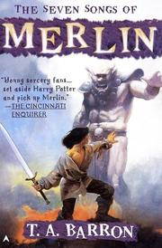 Cover of: The Seven Songs of Merlin (DIGEST)