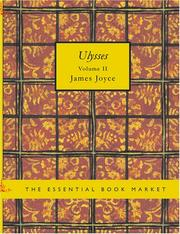 Cover of: Ulysses. Volume 2