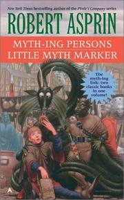 Cover of: Myth-Ing Persons / Little Myth Marker (2-In-1)