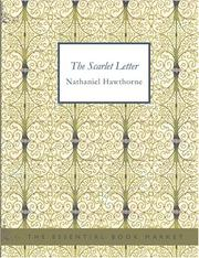 Cover of: The Scarlet Letter (Large Print Edition) | Nathaniel Hawthorne