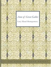 Cover of: Anne of Green Gables (Large Print Edition) | Lucy Maud Montgomery