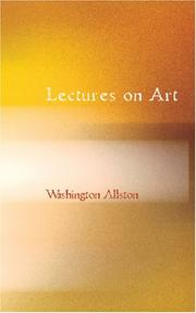 Cover of: Lectures on Art
