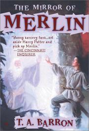 Cover of: The Mirror of Merlin (Lost Years of Merlin, Book 4)