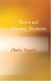 Cover of: Town and Country Sermons