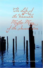 Cover of: The Life of the Venerable Mother Mary of the Incarnation