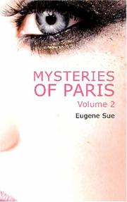 Cover of: Mysteries of Paris, Volume 2