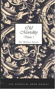 Cover of: Old Mortality, Volume 1