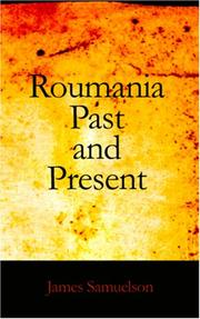 Cover of: Roumania Past and Present