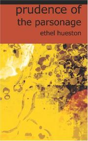 Cover of: Prudence of the Parsonage | Ethel Hueston