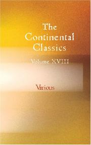 Cover of: The Continental Classics