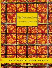 Cover of: The Delectable Duchy (Large Print Edition) | Arthur Thomas Quiller-Couch