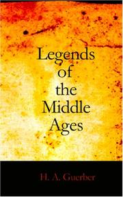Cover of: Legends of the Middle Ages