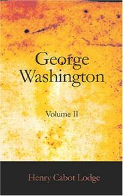 Cover of: George Washington, Volume II