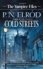 Cover of: Cold Streets (The Vampire Files)