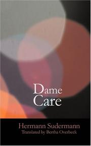 Cover of: Dame Care
