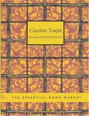 Charlotte Temple (Large Print Edition)