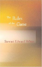 Cover of: The rules of the game