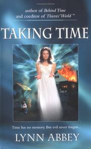 Cover of: Taking Time | Lynn Abbey