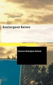 Cover of: Scattergood Baines