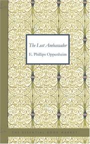 Cover of: The Lost Ambassador