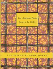 The American Baron (Large Print Edition)