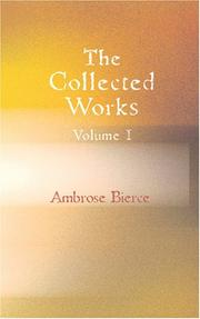 Cover of: The Collected Works of Ambrose Bierce