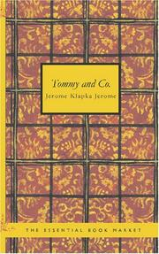Cover of: Tommy and Co.
