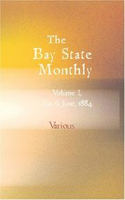 Cover of: The Bay State Monthly: Volume 1, No. 6, June, 1884