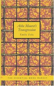 Cover of: Abbe Mouret/s Transgression | Г‰mile Zola