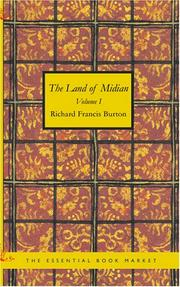 Cover of: The Land of Midian Volume 1