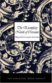 Cover of: The Exemplary Novels of Cervantes