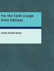 Cover of: For the Faith