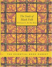 Cover of: The Souls of Black Folk