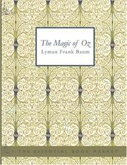 Cover of: The Magic of Oz
