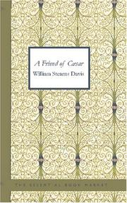 Cover of: A Friend of Caesar
