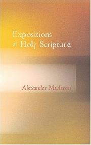 Cover of: Expositions of Holy Scripture Ezekiel Daniel and the Minor Prophets. St Matthew Chapters I to VIII