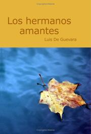 Cover of: Los Hermanos Amantes