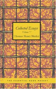 Cover of: Collected Essays Volume V