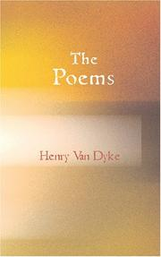 Cover of: The Poems of Henry Van Dyke