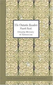 Cover of: The Ontario Readers | Ontario. Ministry of Education.