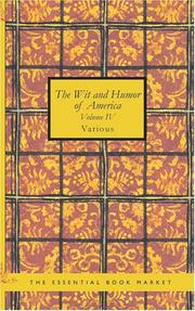 Cover of: The Wit and Humor of America Volume IV | Various