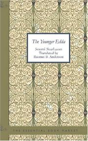 Cover of: The Younger Edda: Also Called Snorre's Edda or the Prose Edda