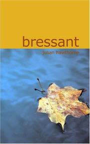 Cover of: Bressant: A Novel