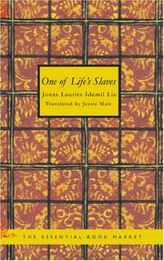 Cover of: One of Life's Slaves