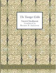 Cover of: The Younger Edda (Large Print Edition) | Snorri Sturluson