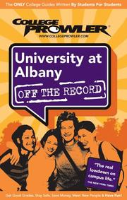 University at Albany NY 2007