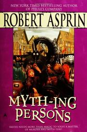 Cover of: Myth-Ing Persons (Myth)